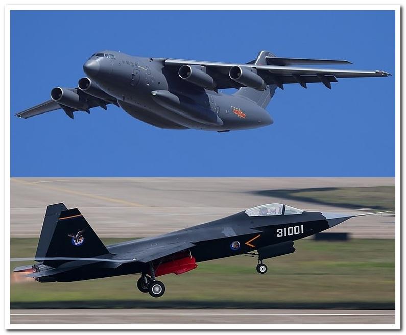 Y-20 y J-31