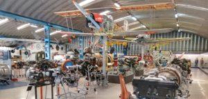 El hangar II.