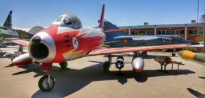 """F-86 Sabre """"Ascua""""."""